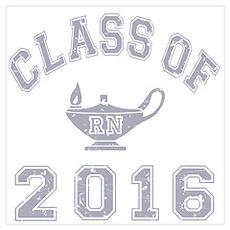 Class Of 2016 RN Wall Art Poster