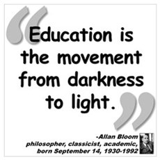 Bloom Education Quote Wall Art Poster