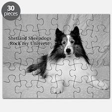 Shetland Sheepdogs Rock my Universe Puzzle