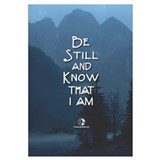 Be still and know that i am god Wrapped Canvas Art