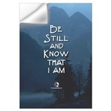 Be still and know that i am god Wall Decals
