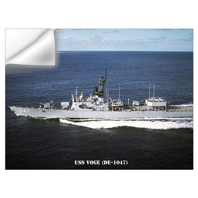 USS VOGE Wall Art Wall Decal
