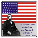 A lawyer's time and advice are his stock in trade Wrapped Canvas Art
