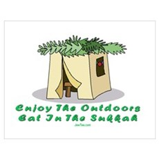 JEWISH HOLIDAY SUKKOT Wall Art Poster