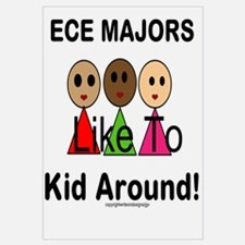 ECE Majors Like to Kid Around Wall Art