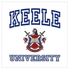 KEELE University Wall Art Poster