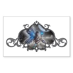 The Doodler Gothic Fairy Fant Sticker (Rectangle 5