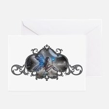 The Doodler Gothic Fairy Fant Greeting Cards (Pk o