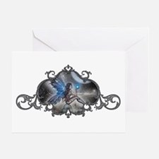 The Doodler Gothic Fairy Fant Greeting Card