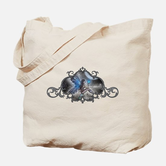 The Doodler Gothic Fairy Fant Tote Bag