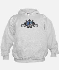 The Doodler Gothic Fairy Fant Hoodie