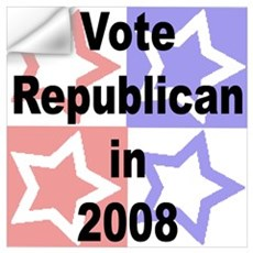 Vote Republican Wall Art Wall Decal