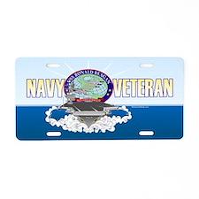 CVN-76 USS Reagan Aluminum License Plate