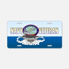 CVN-76 USS Reagan Aluminum License Plate