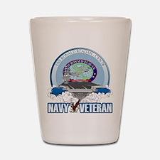 CVN-76 USS Reagan Shot Glass