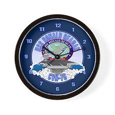 CVN-76 USS Reagan Wall Clock
