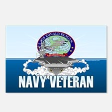 CVN-76 USS Reagan Postcards (Package of 8)