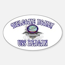 Welcome USS Reagan! Decal