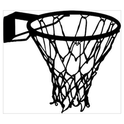 Basketball Wall Art Poster