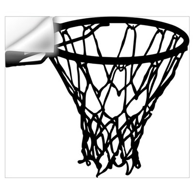Basketball Wall Art Wall Decal