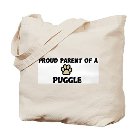 Proud Parent: Puggle Tote Bag