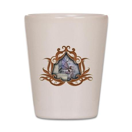 Little Gothic Fairy Fantasy Art Shot Glass