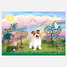 Cloud Angel 2 / JRT pup Wall Art