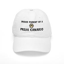 Proud Parent: Presa Canario Baseball Cap
