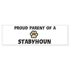 Proud Parent: Stabyhoun Bumper Bumper Sticker