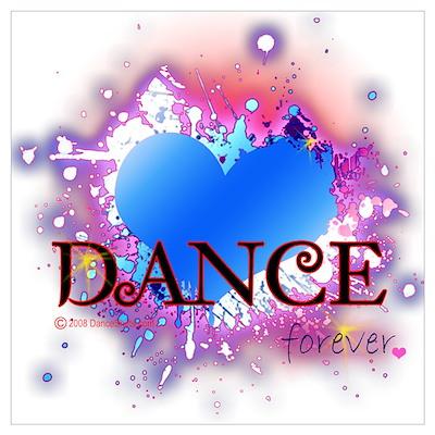 Love Dance Forever Wall Art Poster