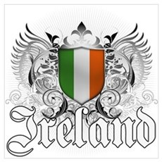 Irish pride Wall Art Canvas Art