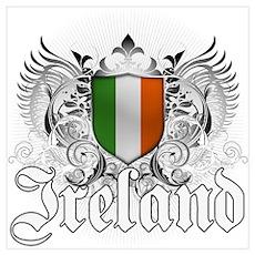 Irish pride Wall Art Poster