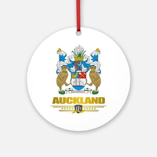 """Auckland"" Ornament (Round)"