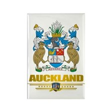"""""""Auckland"""" Rectangle Magnet"""