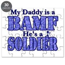 My Daddy is a BAMF *Soldier Puzzle