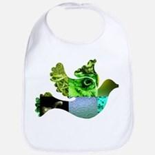Green Bird Design - Flying Do Bib
