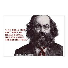Bakunin Free Postcards (Package of 8)