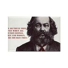 Bakunin Free Rectangle Magnet