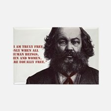 Bakunin Free Rectangle Magnet