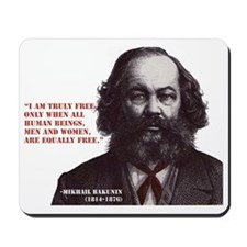 Bakunin Free Mousepad