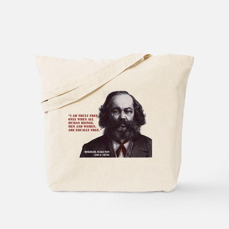 Bakunin Free Tote Bag