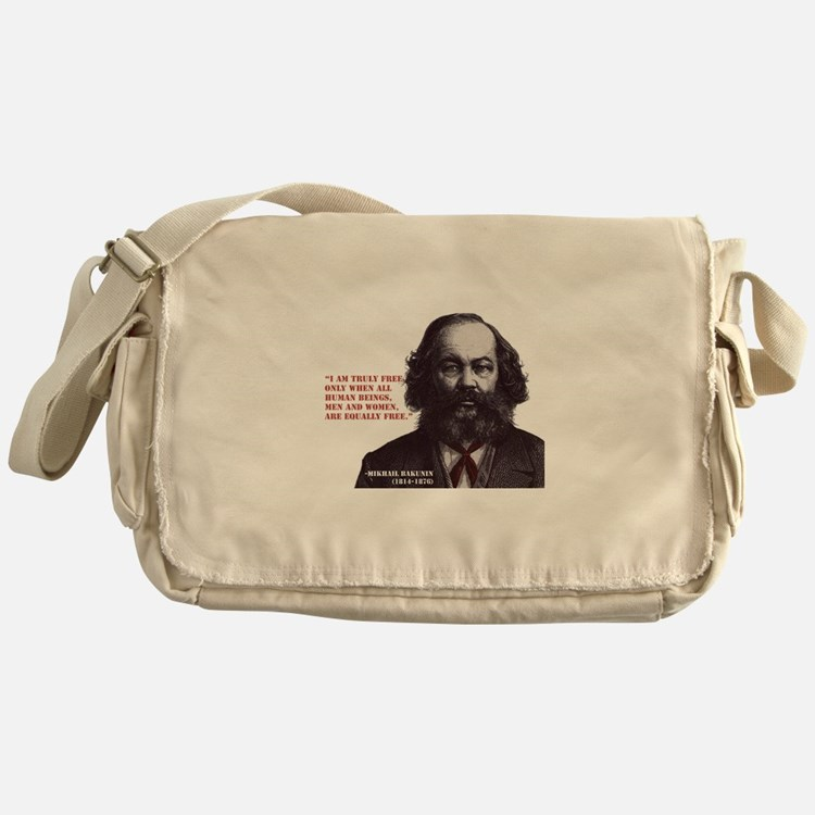 Bakunin Free Messenger Bag