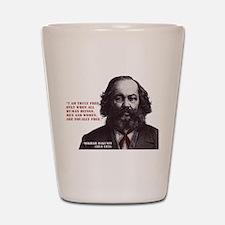 Bakunin Free Shot Glass