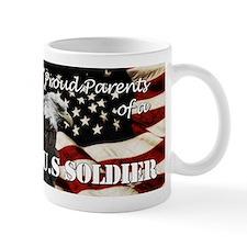 Proud Parents of a US Soldier Mug