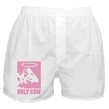 Holy Cow - Pink Boxer Shorts