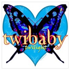 Twibaby Twilight Wall Art Poster