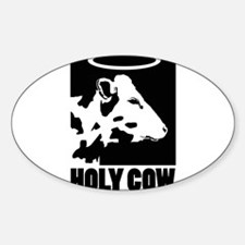 Holy Cow - Black Decal