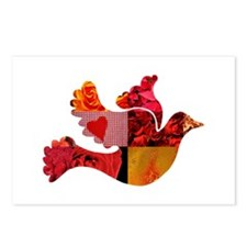 Red Bird Dove Flight Postcards (Package of 8)