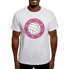Volleyball Girl Fan Gift T-Shirt