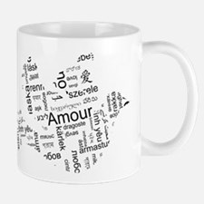Love Dove - Words for love in Mug